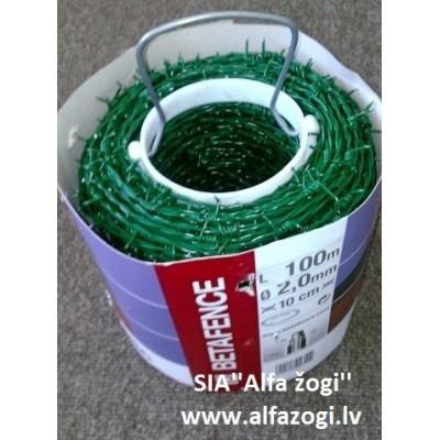 Dzeloņstieple MOTTO 50m (zaļa)